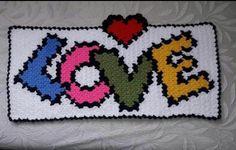 Most Beautiful Heart Fiber Models – Bathroom decor ideas - Bedroom Decor ideas 10 Picture, Crochet Videos, Free Pattern, Diy And Crafts, Fiber, Bedroom Decor, Rugs, Knitting, Beautiful