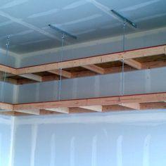 Adding Storage Above The Garage Door Great Tutorial