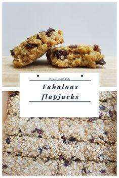 An easy, fruity flapjack recipe #easyrecipe #cookingwithkids