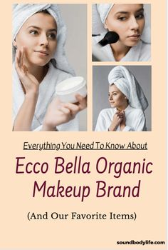 Looking for cruelty-free, all-natural beauty products? Have you tried the Ecco Bella organic makeup brand? We included some of our favorite products here! Organic Makeup Brands, Natural Organic Makeup, Best Organic Foundation, Makeup Ideas, Makeup Tips, Mineral Makeup Brands, Homemade Beauty Products, Natural Cosmetics, Organic Oil