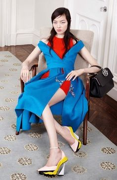 Fei Fei Sun by Willy Vanderperre for Dior Fall/Winter 2014