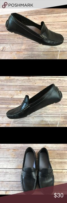 Cole Haan Women's Trillby Driver Penny Loafers 8 B Cole Haan Women's Trillby Driver Penny Loafers  Slip On Dress Shoes Black 8 B.       Condition: Excellent Used Condition. See pics. Retail $100+ Cole Haan Shoes Flats & Loafers