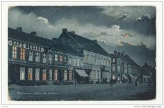 Mouscron * Place de la Gare - Delcampe.be
