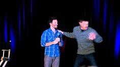 2012 Nashcon Supernatural, Jensen crashes Robs panel