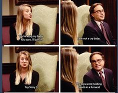 The Big Bang theory Not even gonna lie i cried at this too! Leonard And Penny, Big Bang Theory Funny, Great Comedies, Comedy Show, Modern Family, Movies Showing, Toy Story, Science Nature, Bigbang