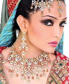 J978 Style J978 Wedding Bridal Jewellery Jewelry India, Indian Pakistani Jewellery Wholesale Export to UK USA Canada