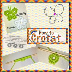 Crotat (Crochet Tatting) patterns and tutorial. Thread Crochet, Crochet Crafts, Crochet Yarn, Crochet Stitches, Crochet Hooks, Crochet Projects, Crochet Patterns, Free Crochet, Needle Tatting Tutorial
