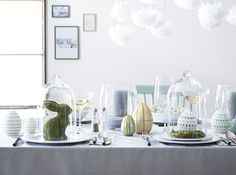 Cloche paques table