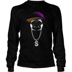 Awesome Tee Hip Hopper Pug T shirts