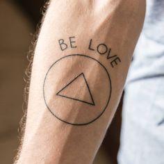 Jason Mraz inspired Be love tattoo on Rodrigo...