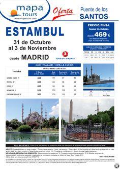 Puente de Todos los Santos Estambul salida Madrid 31 Octubre **Precio Final desde 469** - http://zocotours.com/puente-de-todos-los-santos-estambul-salida-madrid-31-octubre-precio-final-desde-469-2/