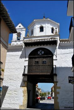 Puerta de Loja, Santa Fé, Granada, Spain