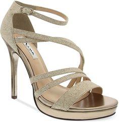 Shop for Friday Platform Evening Sandals by Nina at ShopStyle. Evening Sandals, Evening Shoes, Gold Bridesmaid Shoes, Gold Shoes, Wedding Heels, Peep Toe Platform, Shoe Sale, Bridal Shoes, Ankle Strap