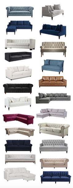 You have to look here if you need a sofa! Really  good selection and prices