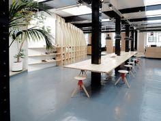 Clarks Originals design office by Arro studio