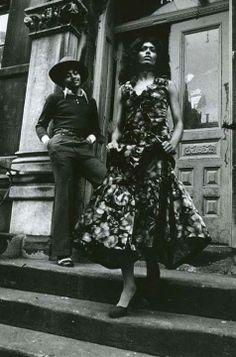 Anthony Barboza. Harlem, 1970 •●