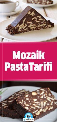 Mozaik Pasta Tarifi Nasıl Yapılır?   #pasta #mozaik #tarif #yemek #yemektarifi #tatlı #tatlılar #recipe #recipes #food #pastacı #kadın #mutfak #defter