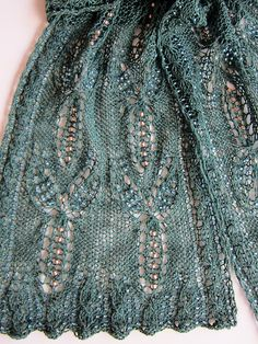 Ravelry: JackieES's Dragonfly Dreams Beaded Scarf