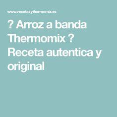 ➥ Arroz a banda Thermomix ✔ Receta autentica y original