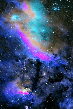 I believe that there may be intelligent life on other planets.....       Charm Nebula