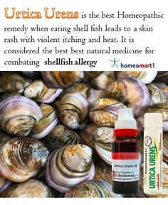 A few minutes after eating seafood like shell fish you may experience raised red bumps of skin (hives). Other symptoms include wheezing and trouble breathing, cramps, diarrhoea, nausea or vomiting. In some cases, after the first symptoms go away, a second wave of symptoms called biphasic reaction comes back one to four hours later