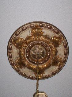 Custom painted ceiling medallion kelliescreations.com like ...