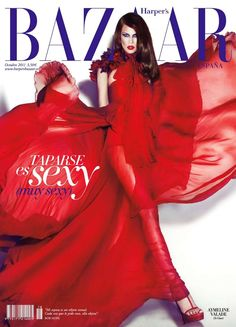 Harper's Bazaar Spain - Harper's Bazaar Spain October 2011 cover