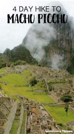 Is hiking the Inca Trail on your travel bucket list? Tips and logistics for Machu Picchu, Peru.