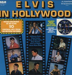 Elvis Presley - Elvis in Hollywood OMG thank you for pinning this, was my favourite album when I was a kid, God I would love to have it again :) <3