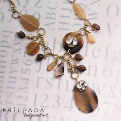 Wanderlust Necklace: #Silpada's Kelsey & Ryane Collection | #Swarovski crystal and horn