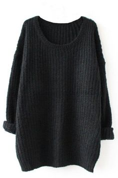 Details: - Knitting - Round neck - Casual style - Multicolor - Regular wash - Fabric: 100%Acrylic, Reference: fit for height < 6', weight < 160 lbs SIZE(IN) BUST SLEEVE LENGTH ONE SIZE 47.24 17.32 26.