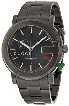 I don't wear a watch, but I would wear this one.   Gucci 101G Mens Watch YA101331
