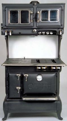 Antique Stoves Restored to their Original Efficiency & Historical Charm. Antique stoves are our passion. We restore and sell antique stoves. Antique Wood Stove, How To Antique Wood, Kitchen Cooker, Wood Stove Cooking, Enchanted Wood, Cast Iron Stove, Vintage Stoves, Kitchens, Kitchen Appliances