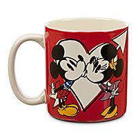 Mickey and Minnie Mouse Mug Disney store