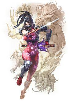 Taki from Soulcalibur VI