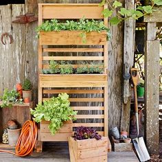 Rectangular Chalkboard Wall Planter
