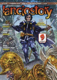 Lanciostory 2130 (febbraio 2016) Cover di Emiliano Simeoni #Lanciostory #EditorialeAurea