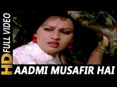 Aadmi Musafir Hai Aata Hai Jata Hai (II) | Lata Mangeshkar, Mohammed Rafi | Apnapan 1977 Songs - YouTube Reena Roy, Lata Mangeshkar, Video Full, Bollywood Songs, Morse Code, Mp3 Song Download, Singer, Nice, Music