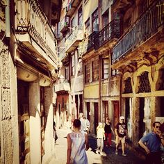 Porto, Portugal     Falling in #love with these #streets  - @jeera #webstagram