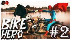 "● SuperMan Vs BatMan || In Real Life #2 : "" BikeHero "" 