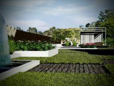 Rewitalizacja ogrodu - Strzegowo - Architekci krajobrazu
