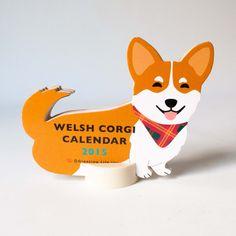 2015 Corgi Calendar