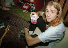 Rare photo - Kurt Cobain
