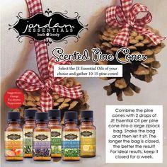 Holiday Essential Oils by Jordan Essentials