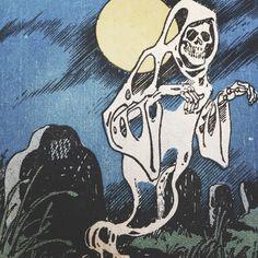 Bd Comics, Horror Comics, Arte Horror, Horror Art, Halloween Art, Vintage Halloween, Illustration Tumblr, Arte Punk, Spooky Scary