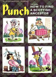 Punch #6889 : How to find a Scottish ancestor