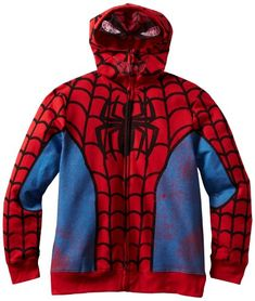 Freeze Big Boys Spiderman Hoodie, Red, X-Large Prep Boys, Spiderman Hoodie, Spiderman Marvel, The Avengers, Avengers Comics, Fleece Lined Hoodie, Kids Fashion Boy, Boys Hoodies, Red Hoodie
