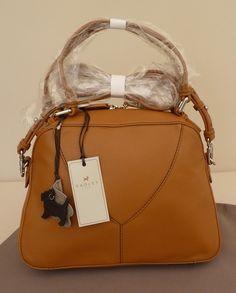 Radley Tan Leather Medium Multiway Bag Burnt Oak Bnwt Rrp 149 New