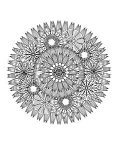 Coloring Flower Mandalas: A Garden-Inspired Coloring Book that Hypnotically Relaxes Adults - My Modern Met
