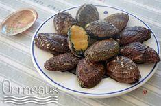 Recettes avec des ormeaux : coquillage original pour changer des fruits de mer. Vous saurez comment les préparer, les cuire, le temps de cuisson à la poêle.